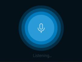 Voice User Interfaces haben kein oder nur ein minimalistisches visuelles Interface.