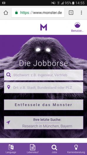 Fein Upload Lebenslauf In Monster Usa Zeitgenössisch ...