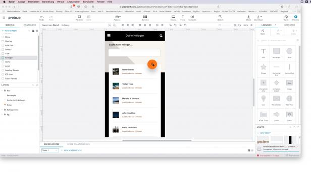 Screenshot Proto.io