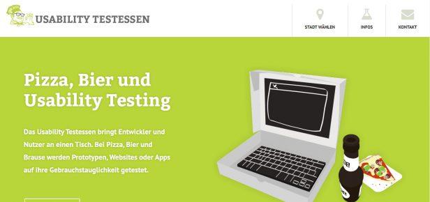 Usability Testessen sind nutzerorientiert
