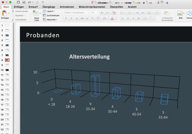 Beispiel 3D-Grafik Powerpoint