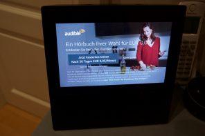 Foto Amazon Show mit Werbung