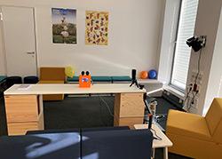 Der kindgerechte Laborraum mit haptischem Prototypen