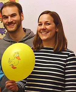 Robin Nagel und Caroline Hotze – Das Projektteam von eresult