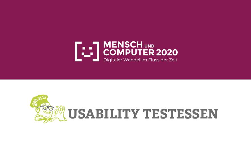 Usability Testessen meets Mensch & Computer